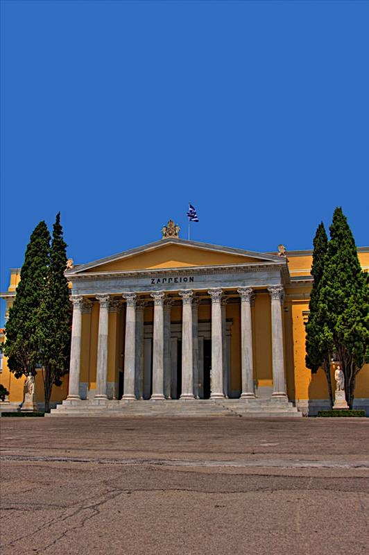 The Zappeion in the National Gardens of Athens