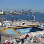 Leaving Port of Seattle,Washington on 9-24-09