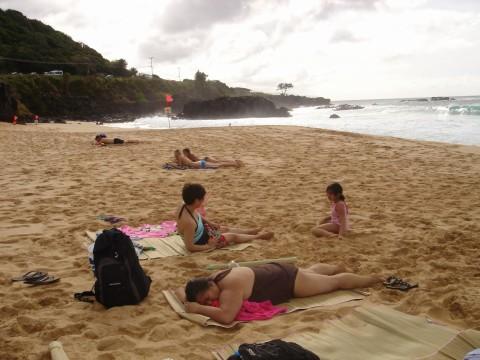 Beach day - North Shore