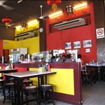 Inside Famosa Chicken Rice Resturant