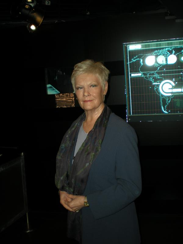 Judy Dench, Madame Tussaude's Wax Museum - 20th May