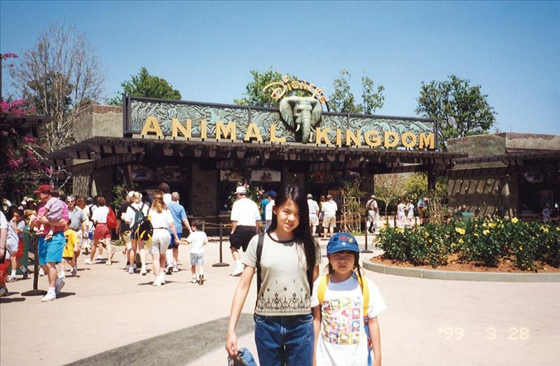 We went back in 1999 and discovered the new Animal Kingdom.