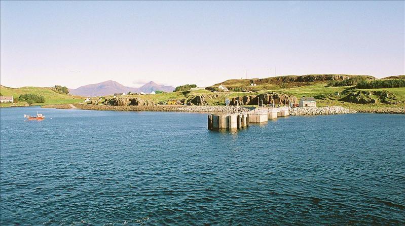 Pier at Port Mor