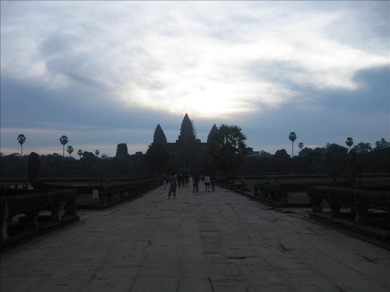 Sunrise at the Temple of Angkor Wat