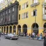 Around Plaza de Armas, Lima