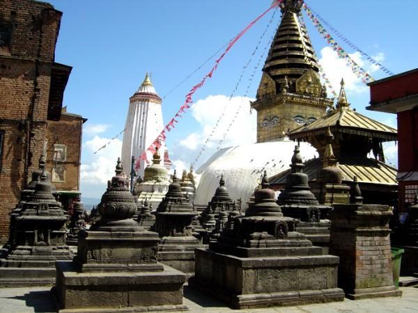 Swyambhu nath temple.