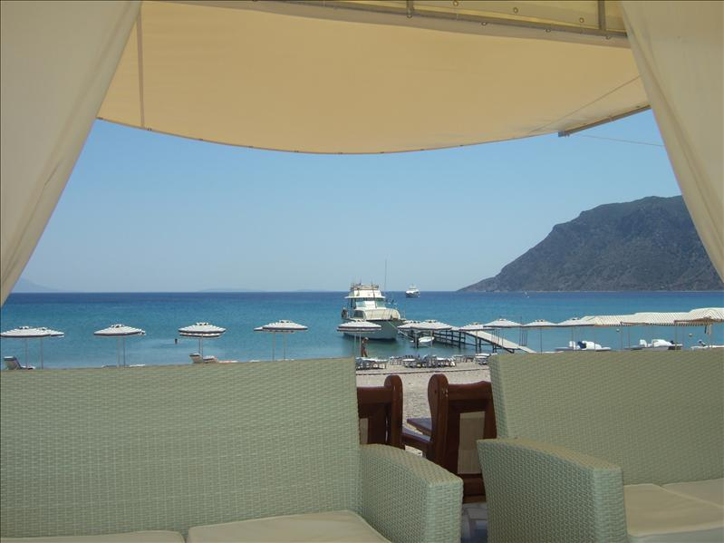 At the Sacallis Hotel, Kefalos Bay