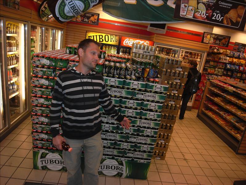 7/11 in denmark have beer