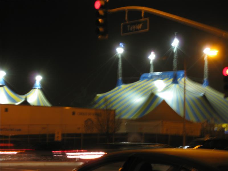 The Cirque Tent