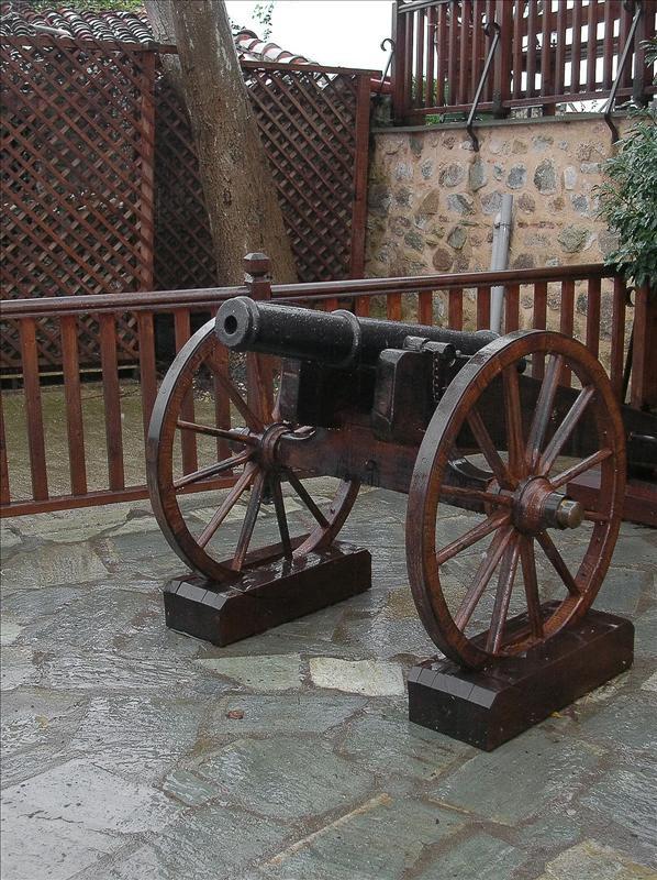 Meteora, Gun, Greece
