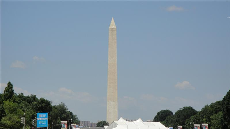 Washington Monument....(we took a lot of pics of it)