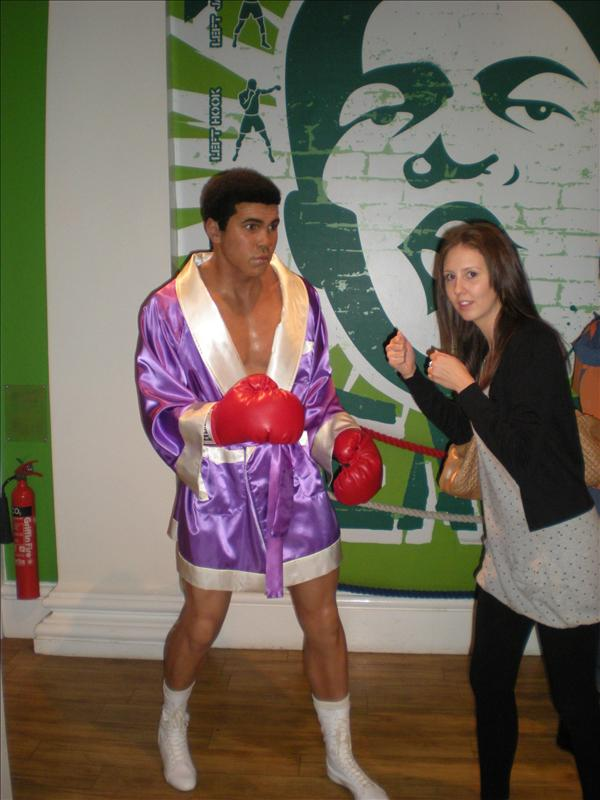 Muhummed Ali, Madame Tussaude's Wax Museum - 20th May