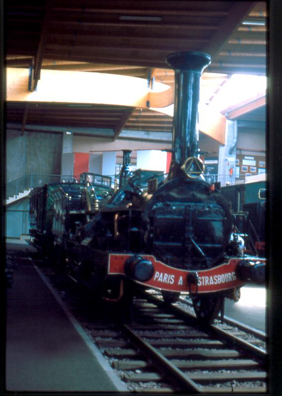 Locomotora Paris Estrasburgo