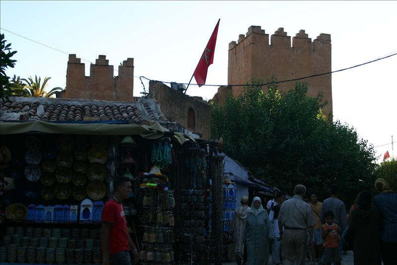 The Kasbah & pottery store in Plaza Uta al-Hammam