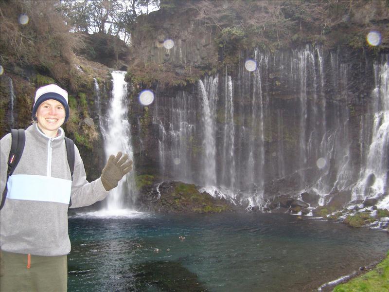 Aline•Shiraito Falls•Fujinomiya