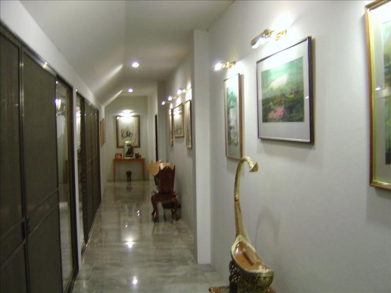 hallway of the bed-rooms of host's home