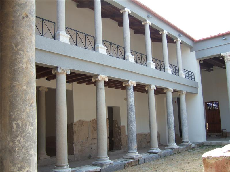 Kos Town - Restored Roman House