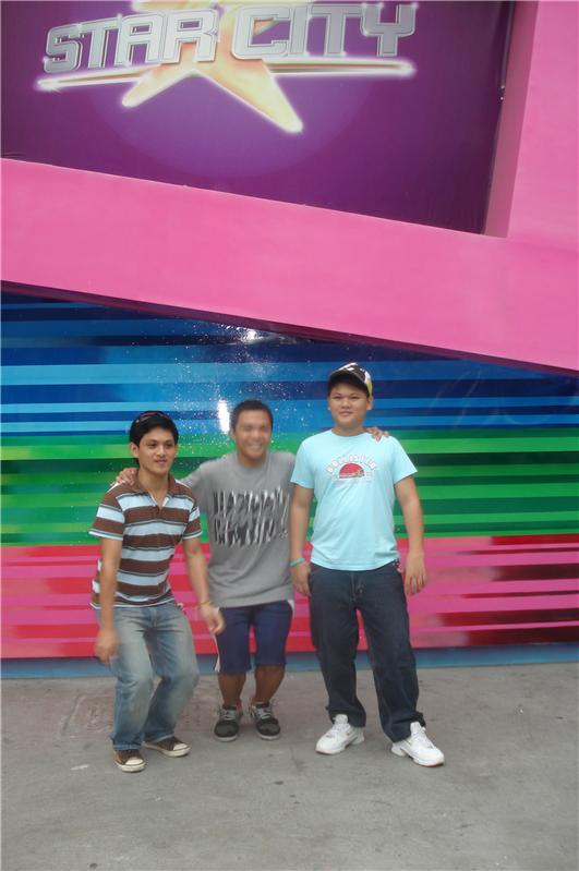 Rg, Caloy and Pheng