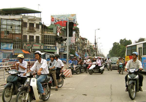 crazy life on Hanoi's streets