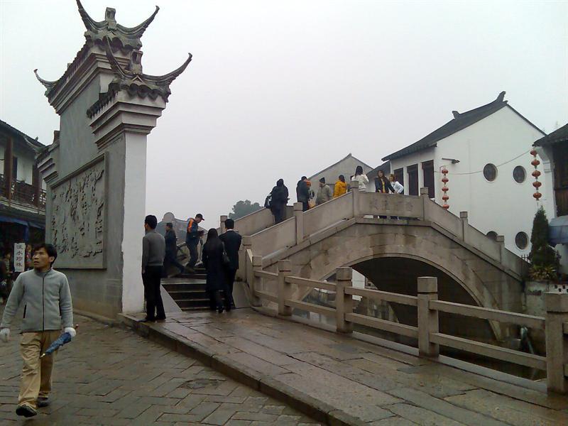 石桥和牌坊