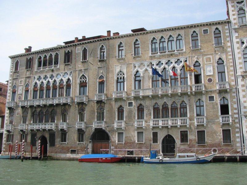 .. Venice's high street...