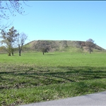 Cahokia Mounds ancient N.A. Indian site near St. Louis