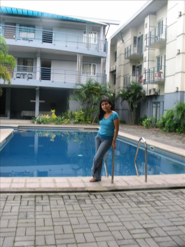 Technopark Hotel's Pool Area