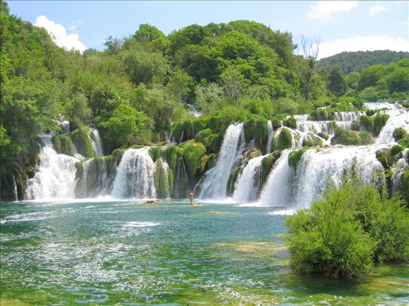 Largest travertine waterfalls in Europe...ooooh
