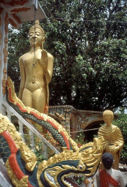 DHAMMIKARAMA BURMESE BUDDHIST TEMPLE, GEORGETOWN, PENANG, MALAYSIA