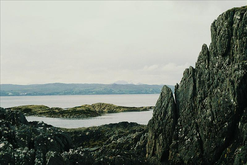 Skye across the Sound of Sleat