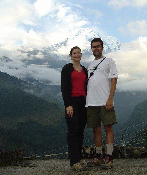 Enrico and Shana - Annapurna Treks