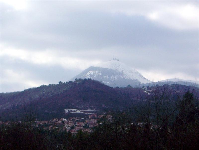 有富士山美譽的Puy de Dôme