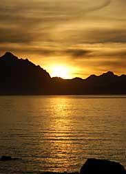 Sunset - Cabo Polonio