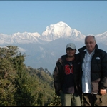 Ramoo and peter in Annapurna Treks