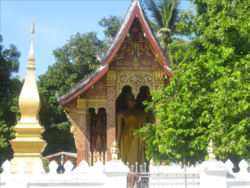 Wat Pha Pai, one of the 30 temples in Luang Prabang