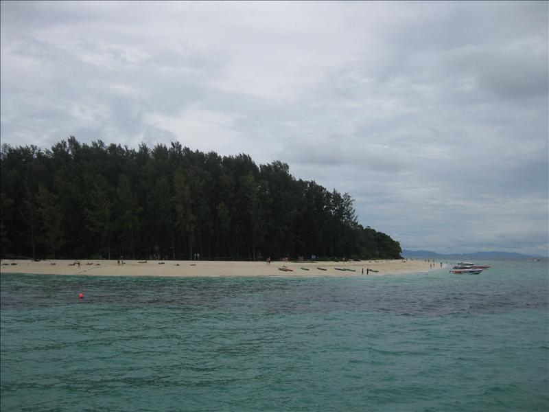Uninhabited Bamboo Island