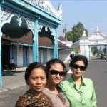 Widya and Ibu Putri