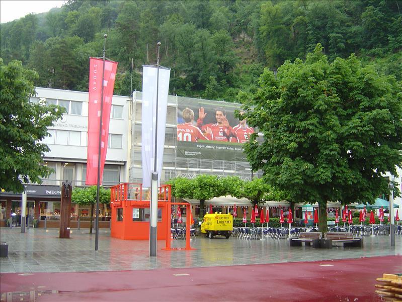 Vadus, capital of Liechtenstein
