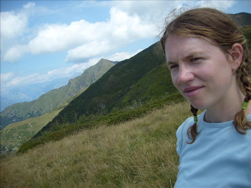 Aline•confine•traversata Monte Lema-Monte Tamaro•2009