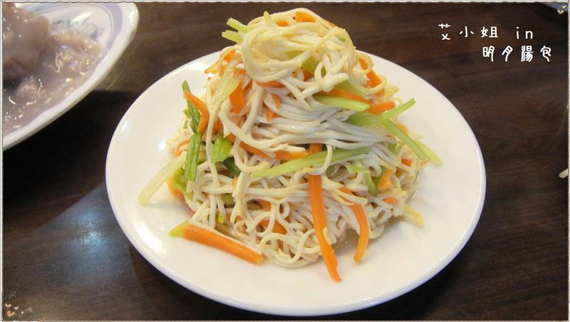 小菜-涼拌干絲