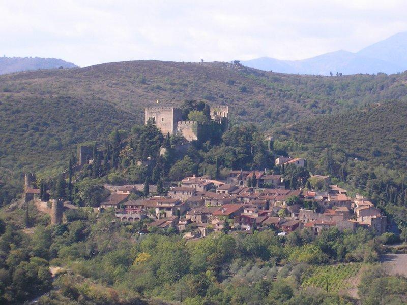 Castelnou is a picturesque village....