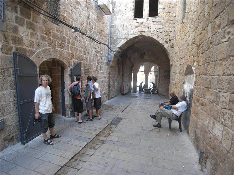 templar crusader tunnel exit Akko (Acre)