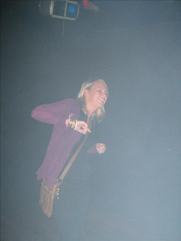 Kelly in Mars Bar