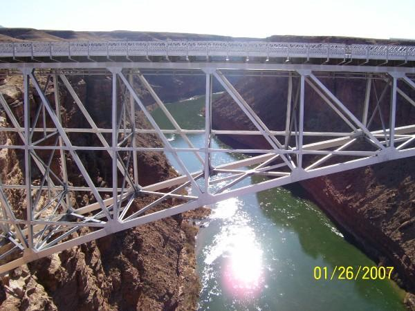 Navajo Bridge outside of Page AZ