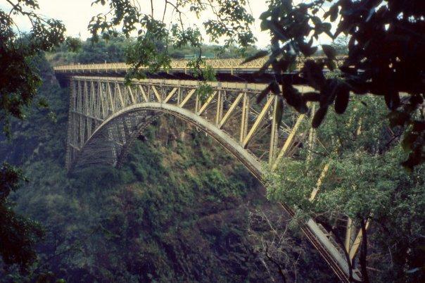 VICTORIA FALLS BRIDGE, ZIMBABWE - MAR