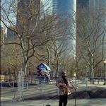 纽约、街头艺人