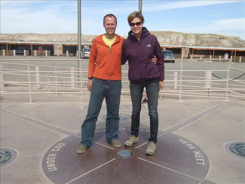 4 corners - Arizona, Utah, Colorado, New Mexico