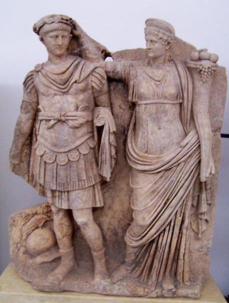 NERO AND AGRIPPINA - APHRODISIAS