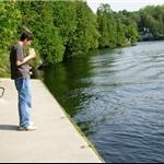 Kenneth fishing