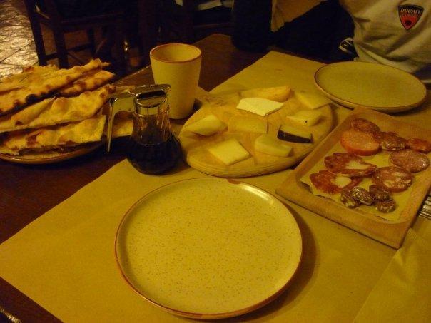 giorno 5: norcia, cena